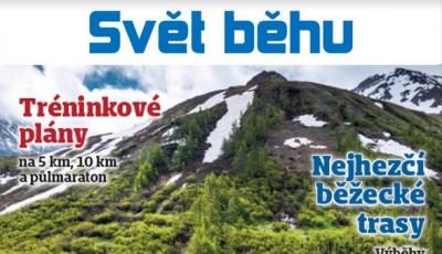 Nový časopis Svět běhu