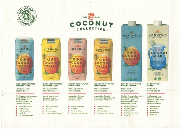 Win Coconut Collective Waters and Milk