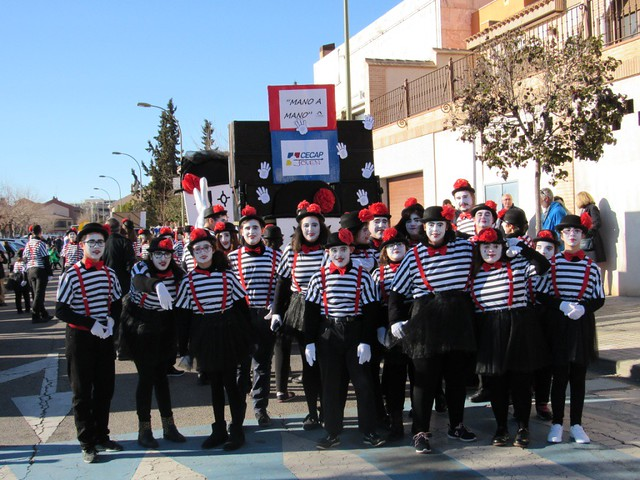 Desfile de Carnaval 2018 CECAP Joven (10 de febrero de 2018)
