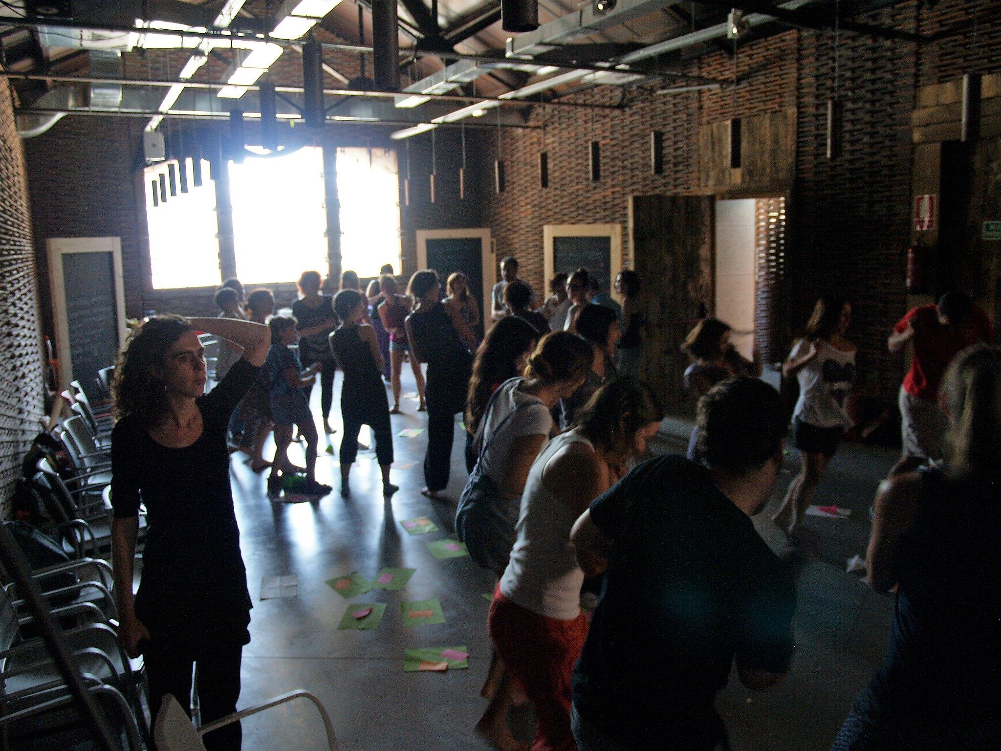 foto vinculada al libro taller Entonces baila. Akántaros