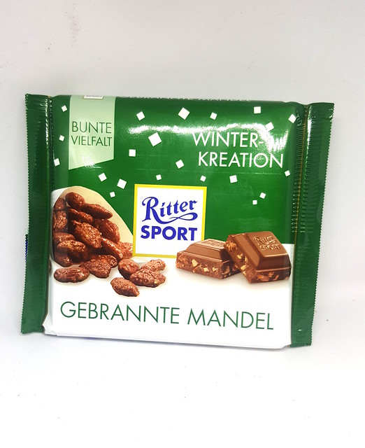 Ritter Sport Caramelised Almond