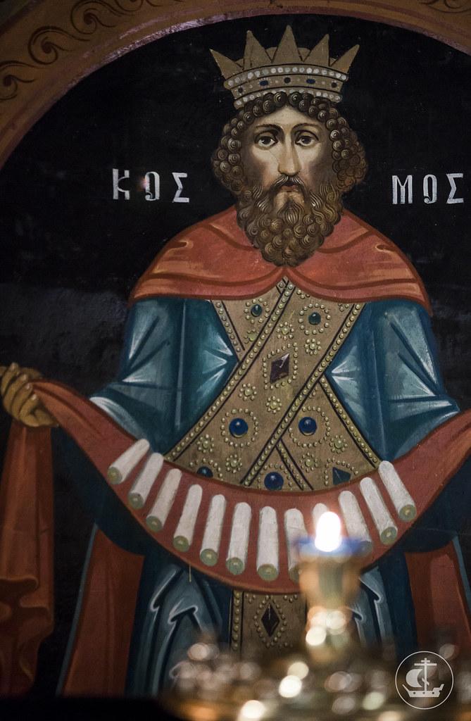 15 февраля 2018, Литургия в Петергофе. Сретение Господне / 15 February 2018, Divine Liturgy in Peterhof. The Meeting of Our Lord