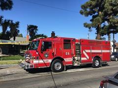 Structure Fire in Anaheim