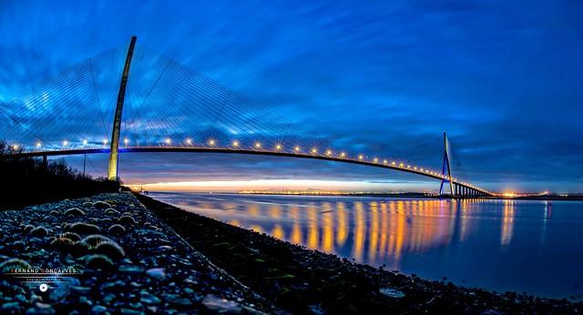 Pont de Normandie - Honfleur