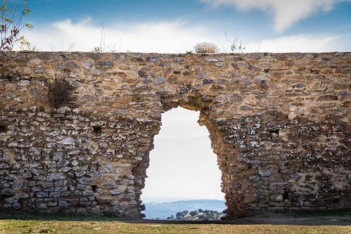 Spain - Seville - Constantina - Castle