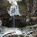 Henrhyd falls at -17°C