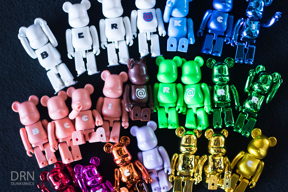 Basic Letter Bearbrick Collection.