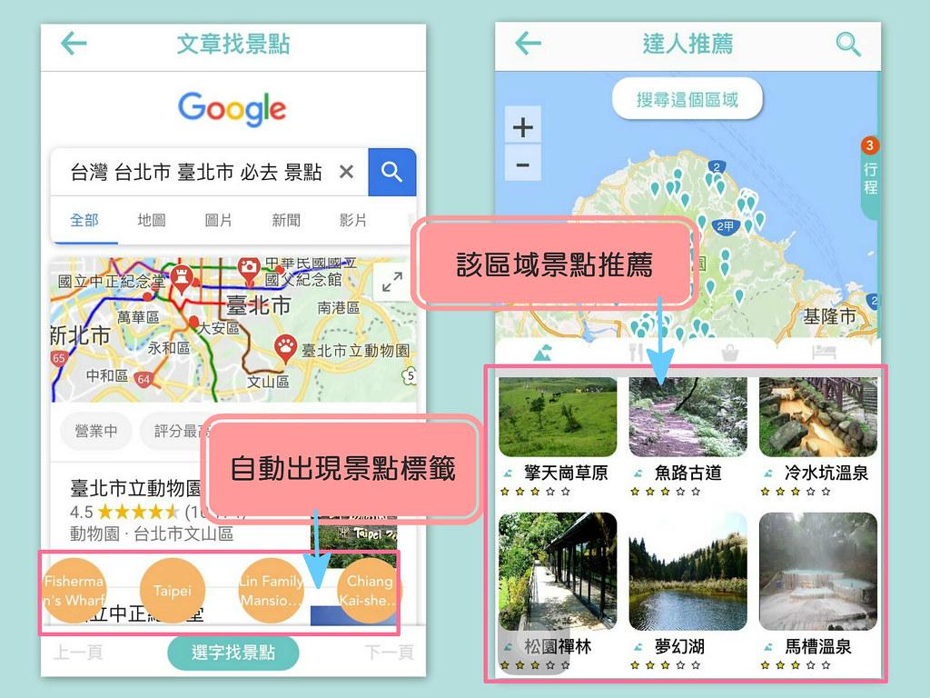 旅行蹤手機版行程教學 (1)