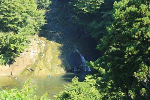 養老渓谷・粟又の滝