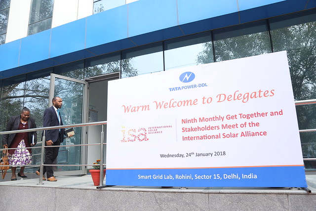 ISA 9th monthly get together and stakeholder's meeting was held on 24th January in New Delhi.
