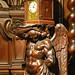 Oak Torso Clock