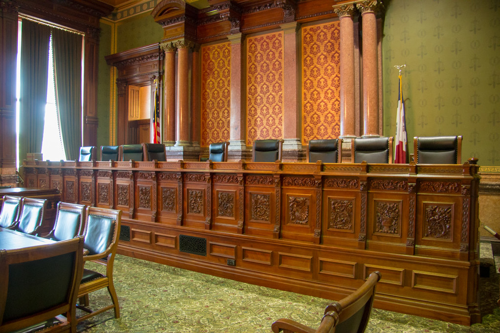 Iowa Supreme Court Chamber
