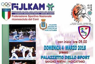 Noicattaro. campionato karate front