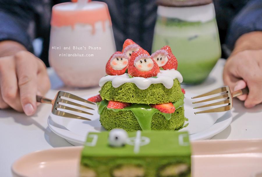 有點甜 草莓 抹茶 蛋糕 甜點17