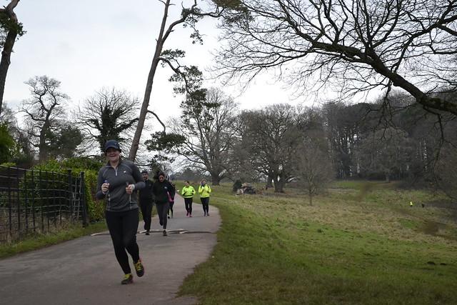 Ashton Court Park Run - MAS - 13/01/18