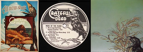 "Grateful Dead's ""Wake Of The Flood"" LP"