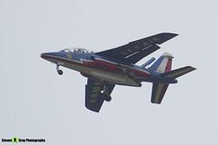 E85 8 F-UGFF - E85 - Patrouille de France - French Air Force - Dassault-Dornier Alpha Jet E - RIAT 2014 Fairford - Steven Gray - IMG_1821