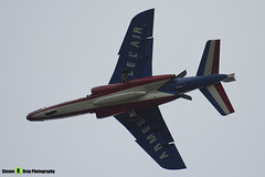 E88 2 F-TELL - E88 - Patrouille de France - French Air Force - Dassault-Dornier Alpha Jet E - RIAT 2014 Fairford - Steven Gray - IMG_3347