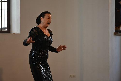 Concierto de Nati Romero en el Ave María