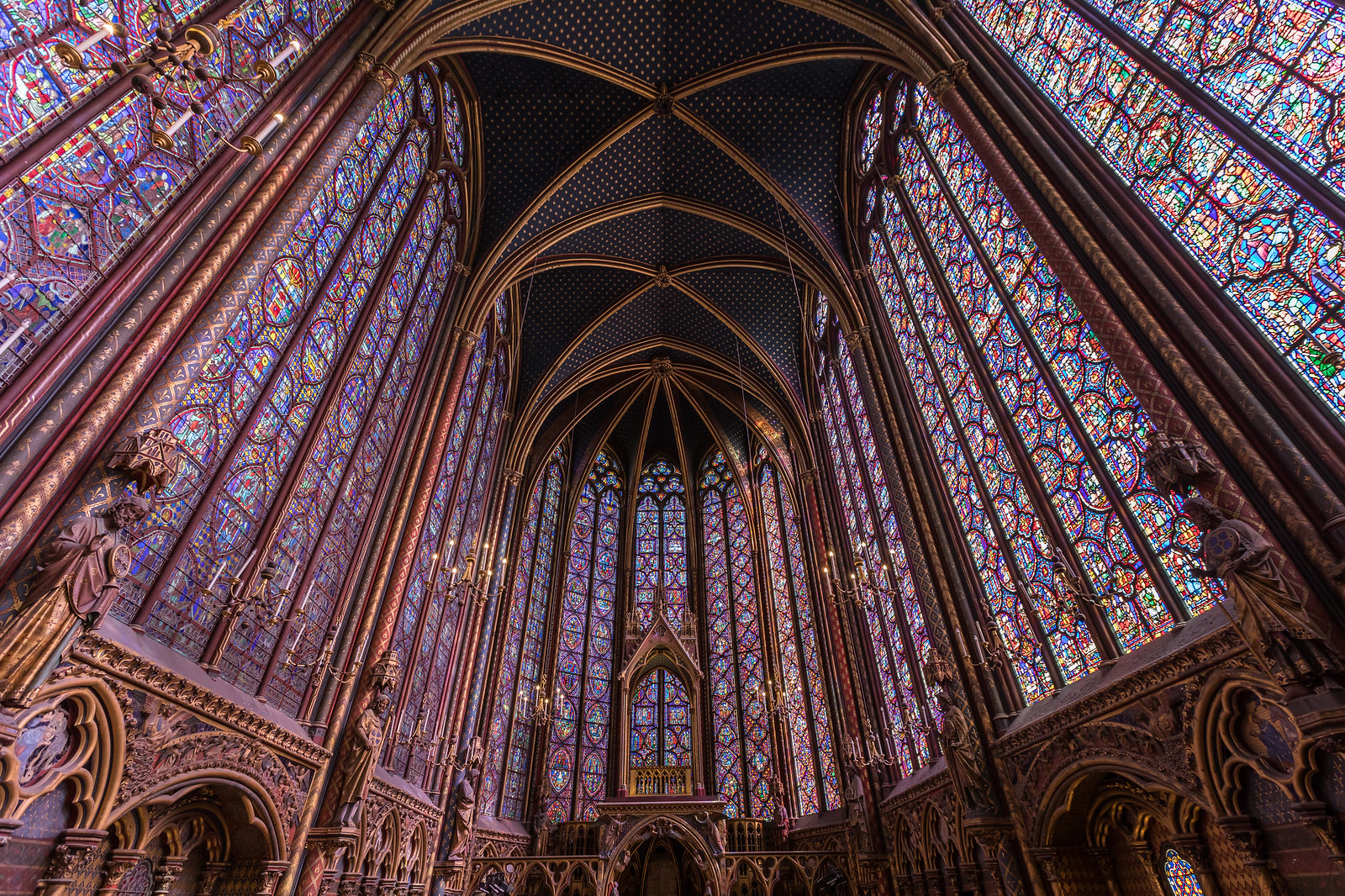 7 Of The Most Famous Stained Glass Windows In World