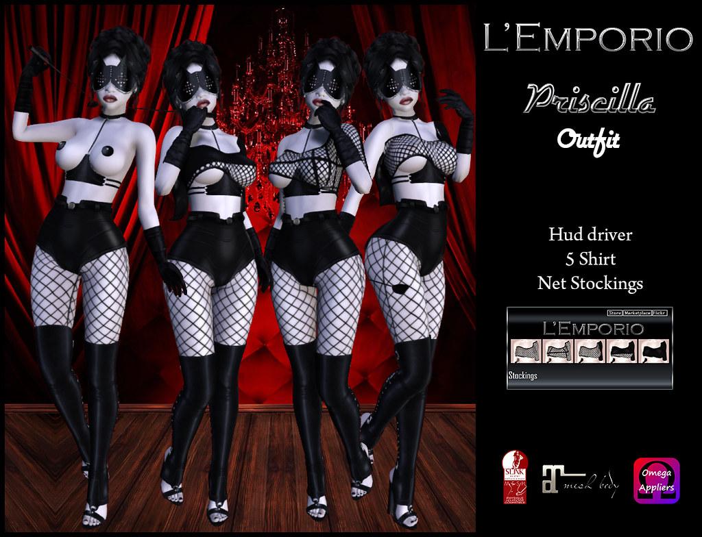 L'Emporio::*Priscilla*:: Outfit - TeleportHub.com Live!