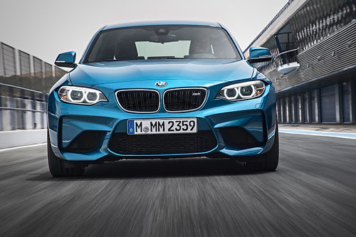 BMW M2 Competition Spills The Beans On Its Front End