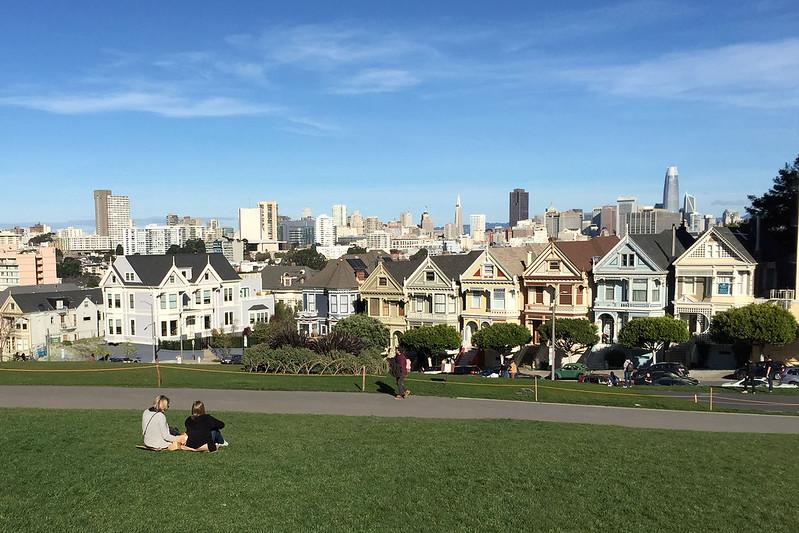 Postcard view of San Francisco