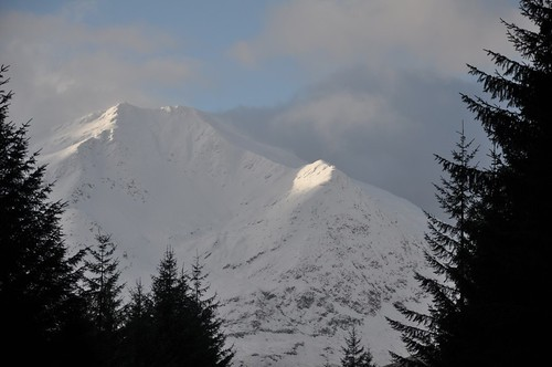 Ben Lui from near Cononish