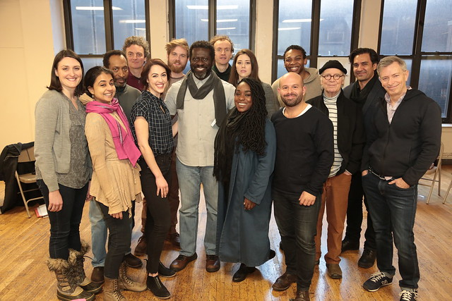 THE WINTER'S TALE First Rehearsal