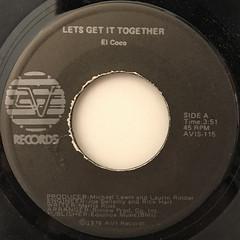 EL COCO:LET'S GET IT TOGETHER(LABEL SIDE-A)