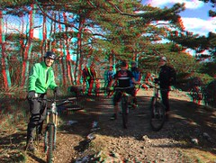 3D Stereo Anaglyph: Samstagsrunde mit balance&power