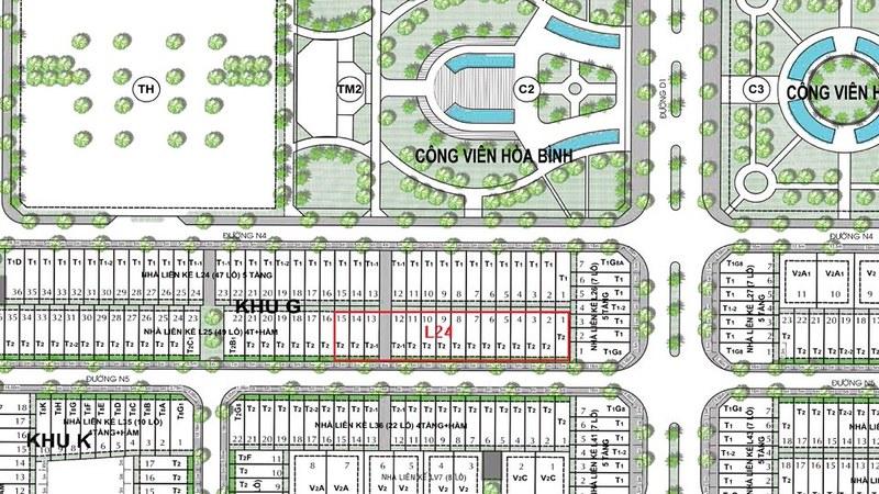 CityLand Park Hills mở bán dãy nhà phố L24