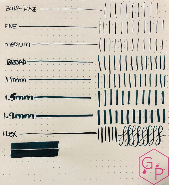Ink Shot Review KWZ Ink IG Green #1 @BureauDirect 5