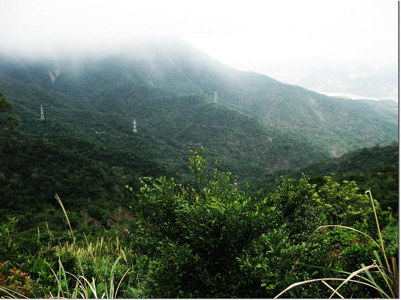 牡丹路山790山頭西北俯瞰上山保線路