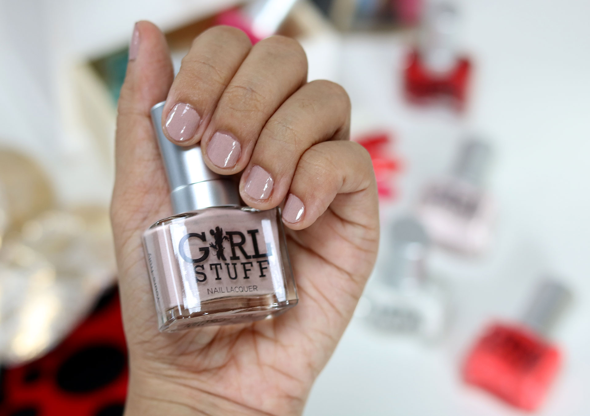 7 Girlstuff Minnie Mouse Nail Lacquers Collection Review Swatches Photos - Gen-zel She Sings Beauty