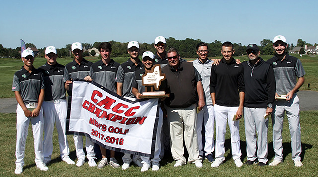 In October 2017, WilmU's golf team won its eighth consecutive CACC Tournament Championship.