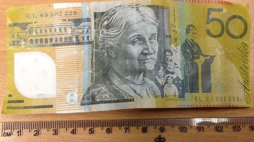 Australia $50 banknote
