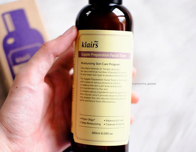 Klairs Supple Preparation Facial Toner2
