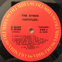 THE BYRDS:(UNTITLED)(LABEL SIDE-A)