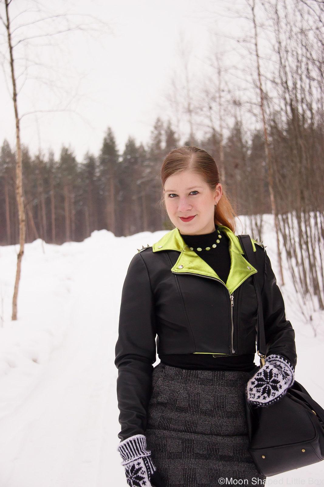 kotimainen nahkatakki, nahkatakki Suomesta, cropattu nahkatakki, tyylibloggaaja, ompelimo rokita, vaatteet