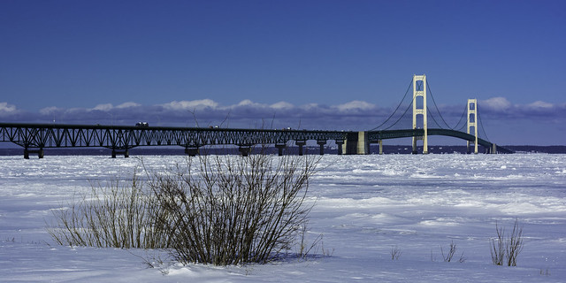 Michigan's Iconic Mackinac Bridge