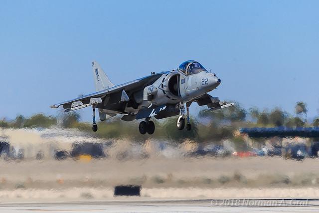 McDonnell Douglas AV-8B Harrier II of VMA-214
