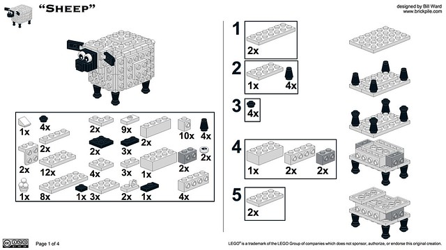 Sheep Instructions 1 of 4