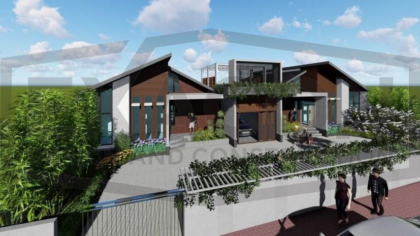 Proyek II Rumah Minimalis Modern Bapak Rafa - Depok 5 EXACON, Jasa Desain Rumah di Depok