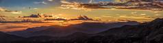 Evening view of Las Alpujarras