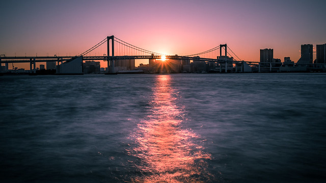 Rainbow Bridge - Tokyo, Japan - Travel photography