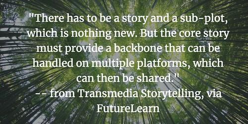 Transmedia Storytelling Branches