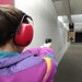 Lanie - on target with the Beretta