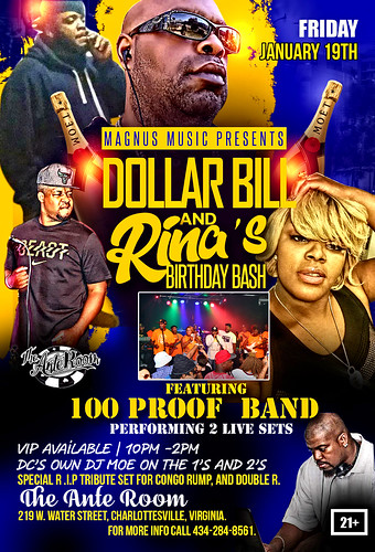 Dollar Bill and Rinas Birthday Bash 1_19_18