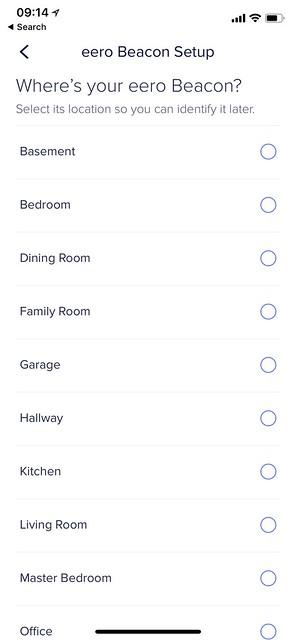 eero iOS App - Setup #7